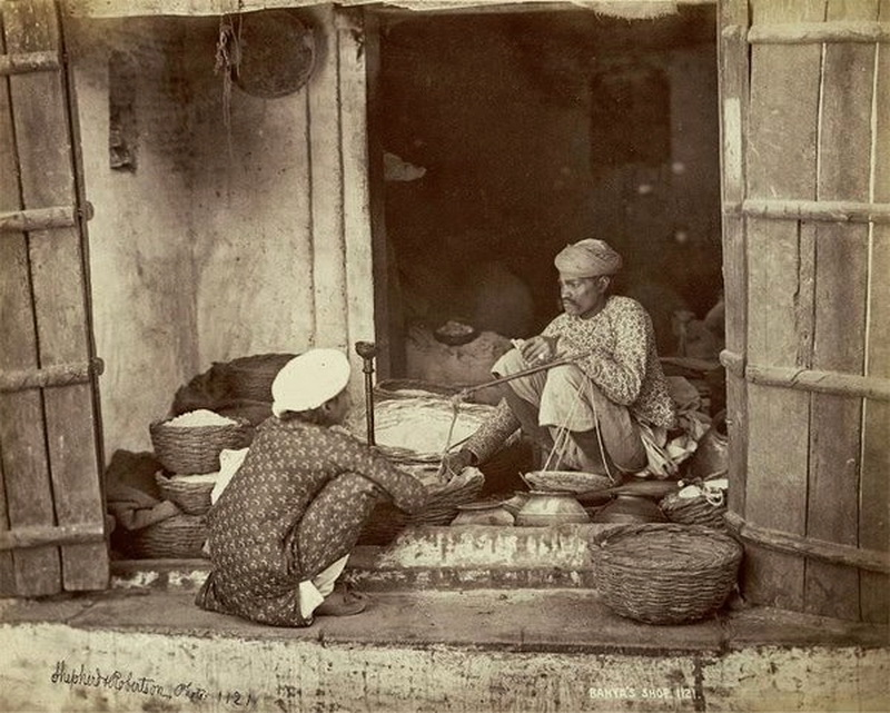 Store in India, 1800s