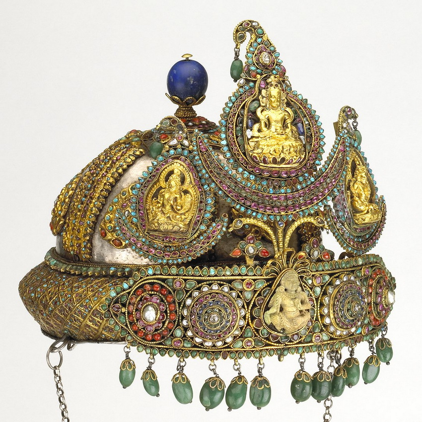 Crown from Nepal, 1800s