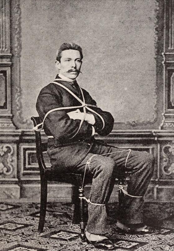 Escape artist, 1800s