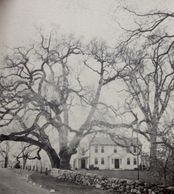 Farmhouse in Framingham, Massachusetts (built in 1760 and photographed in the1800s)