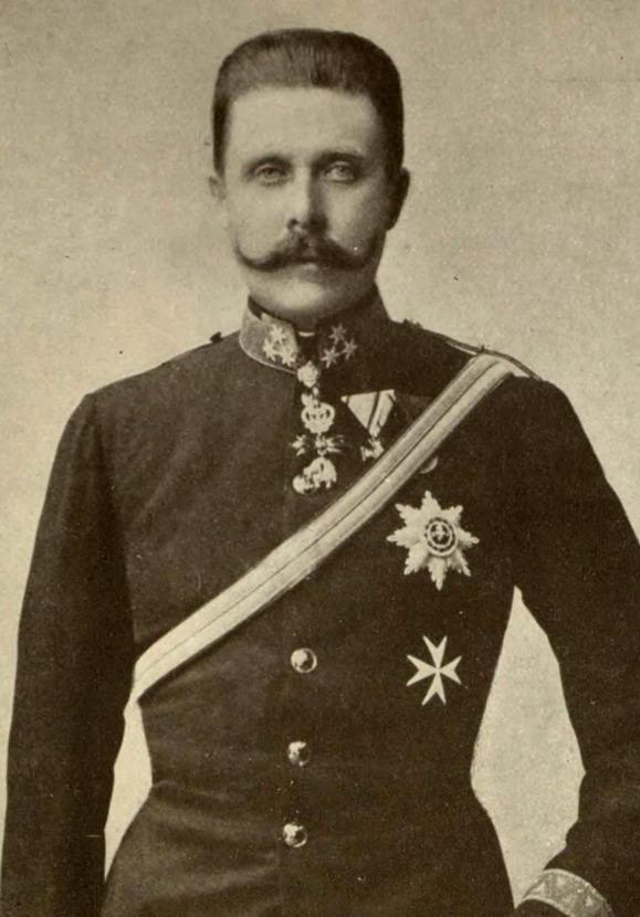 Archduke Franz Ferdinand, circa1900