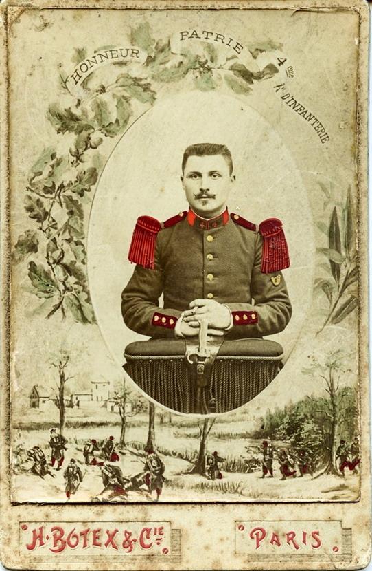 Soldat francais, 1800s