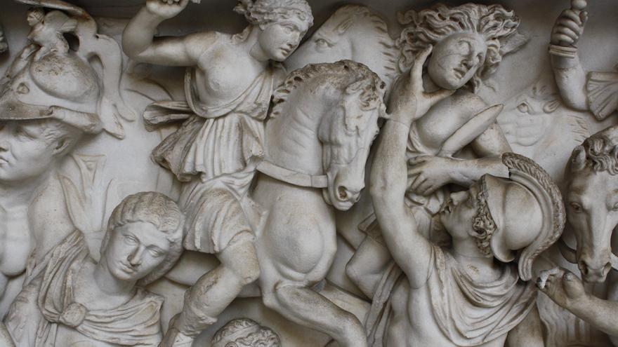 Details from a Greekfrieze
