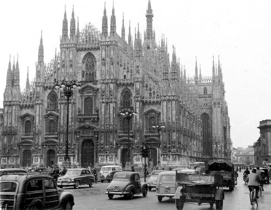 Milano, Italia, 1950s