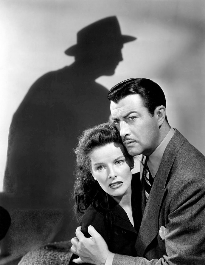 "Katharine Hepburn and Robert Taylor in ""Undercurrent"", 1946"
