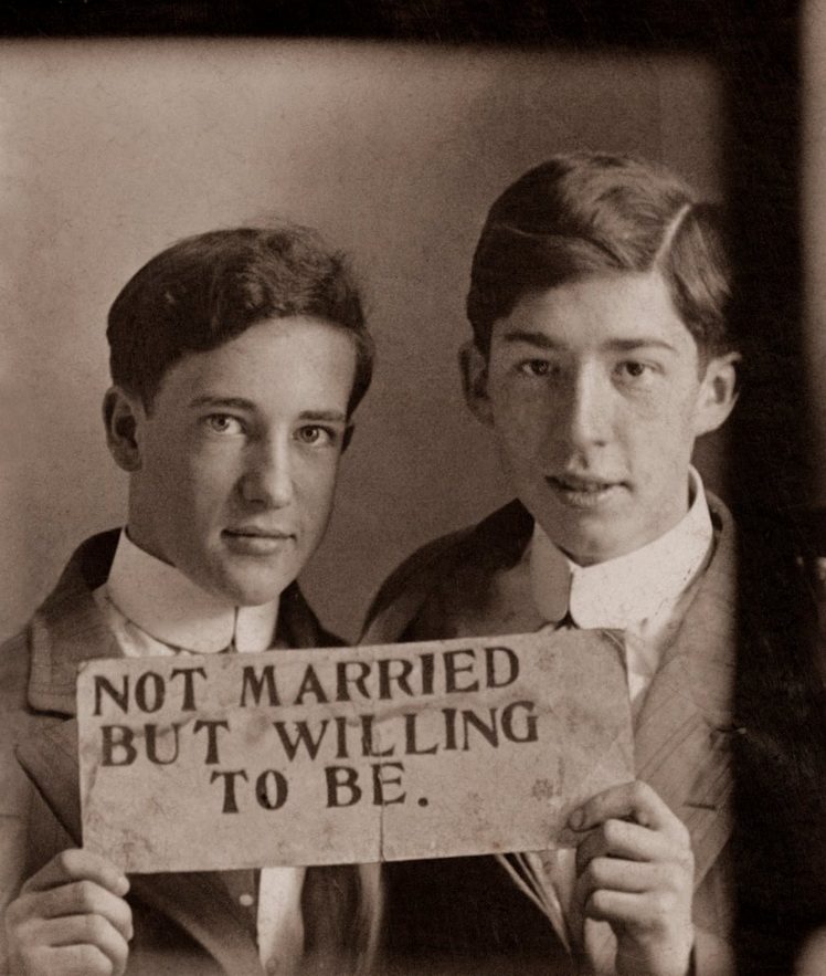 Not married – but willing tobe