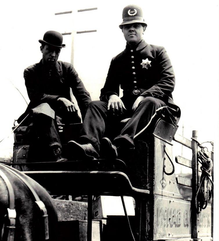 San Francisco policeman,1901