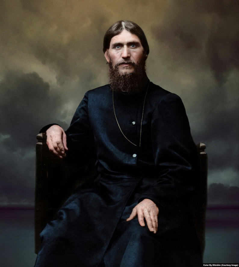 Rasputin, colourized
