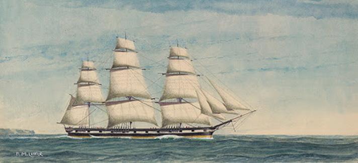 Australian clipper, 1800s