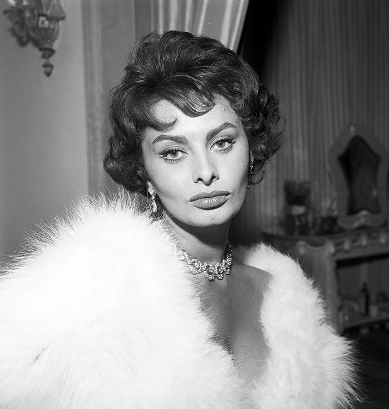Sophia Loren by Pierluigi Praturlon,1957