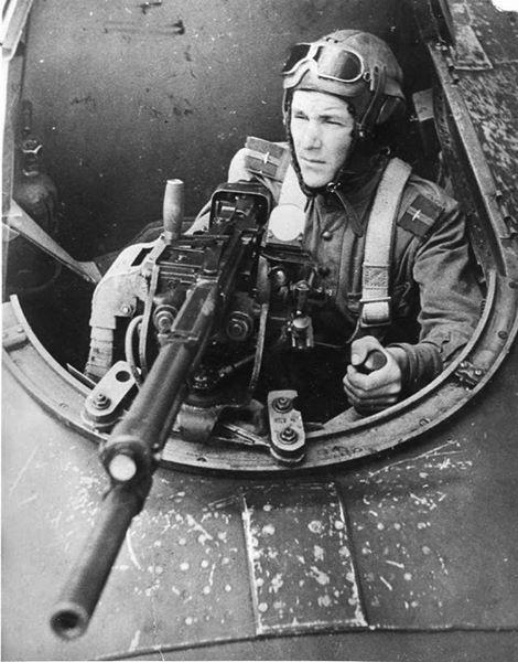 Soviet Air Force gunner,WWII