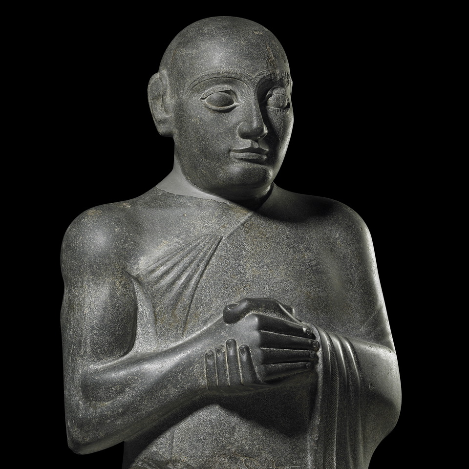 Ancient Iraqi statue