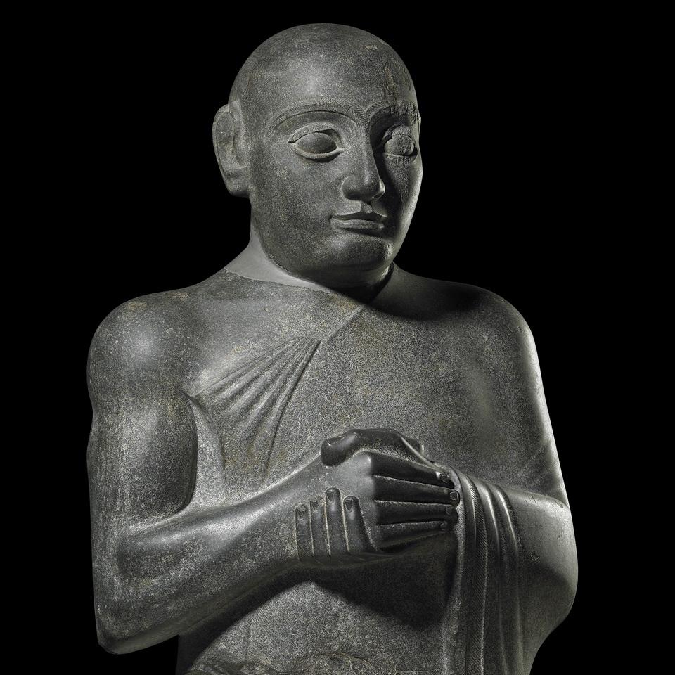 Ancient Iraqi statue