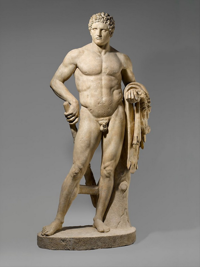 Statue of young Hercules
