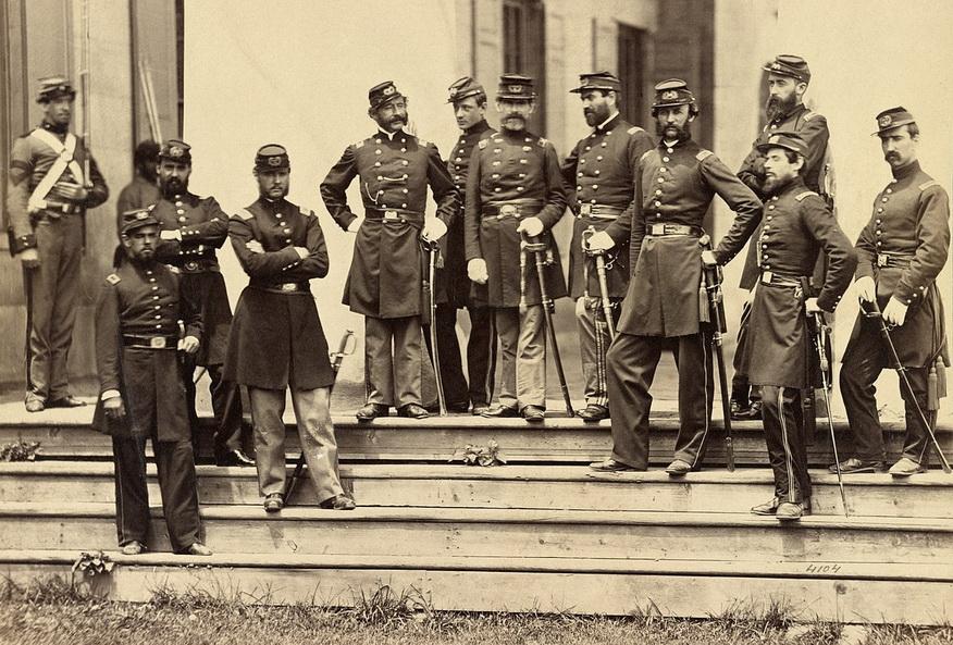 New York regiment, US civil War,1861