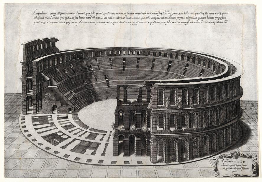 Ampitheatre in Verona