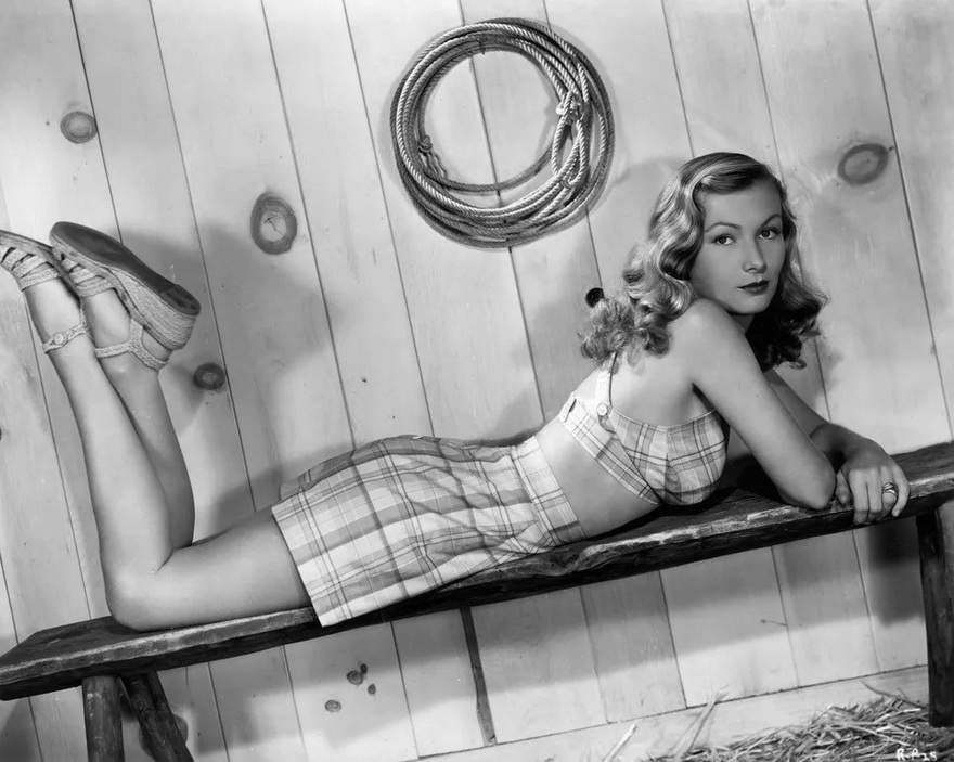 Young Veronica Lake