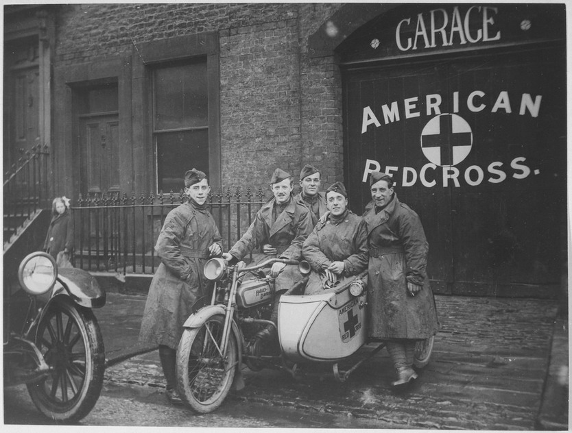 American Red Cross, WWI