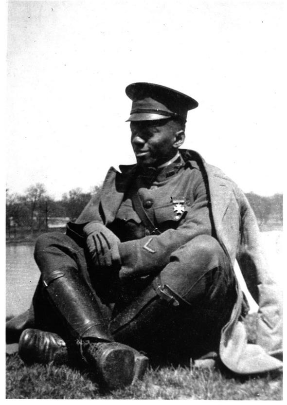 African-American aviator, 1910s
