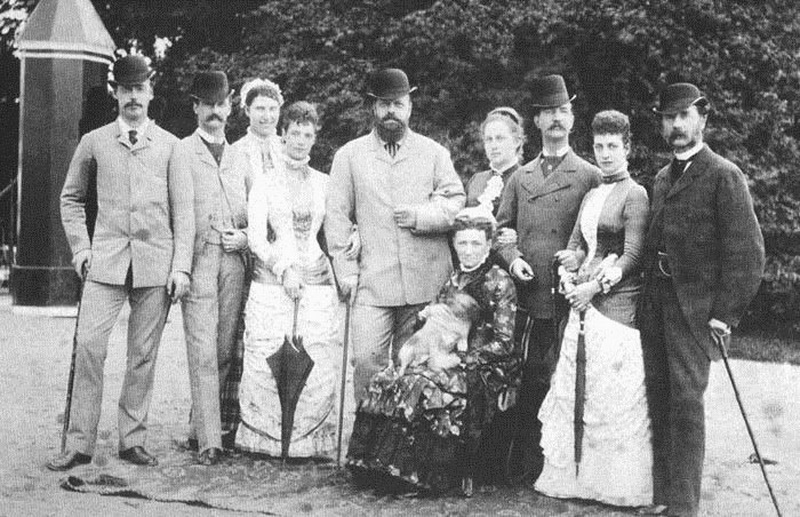 Tsar Alexander III and the Russian Imperial Family,1800s