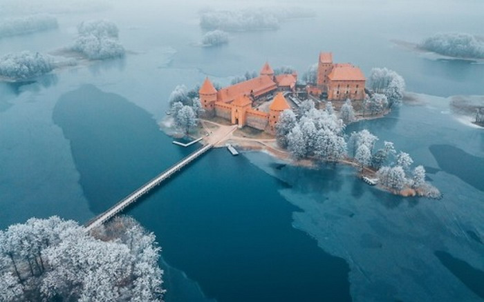 Castle in Lithuania