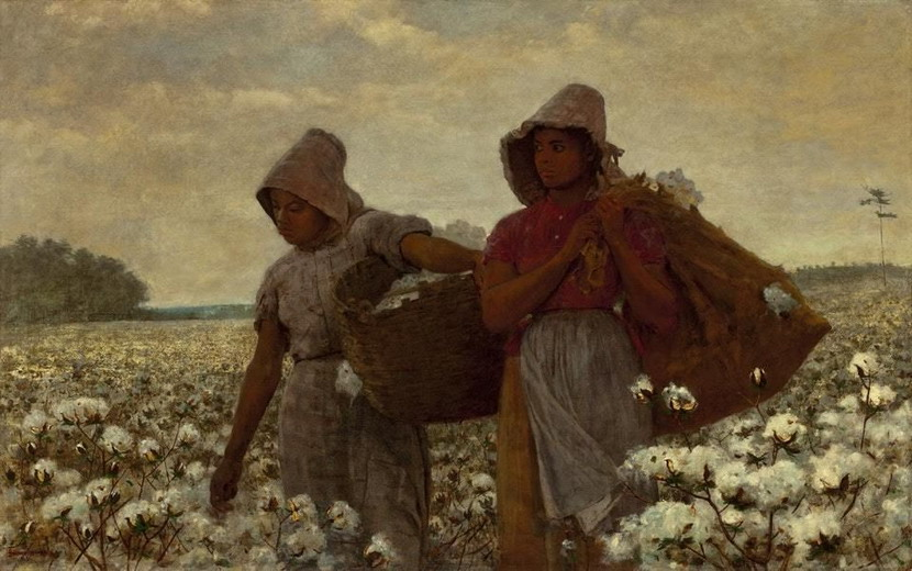 """The Cotton Pickers"" by Winslow Homer, 1876"