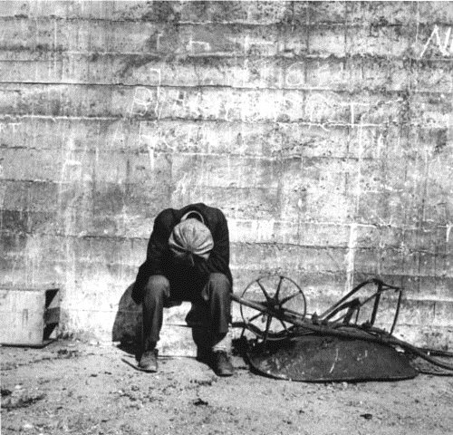 Unemployed worker, Great Depression, 1930s