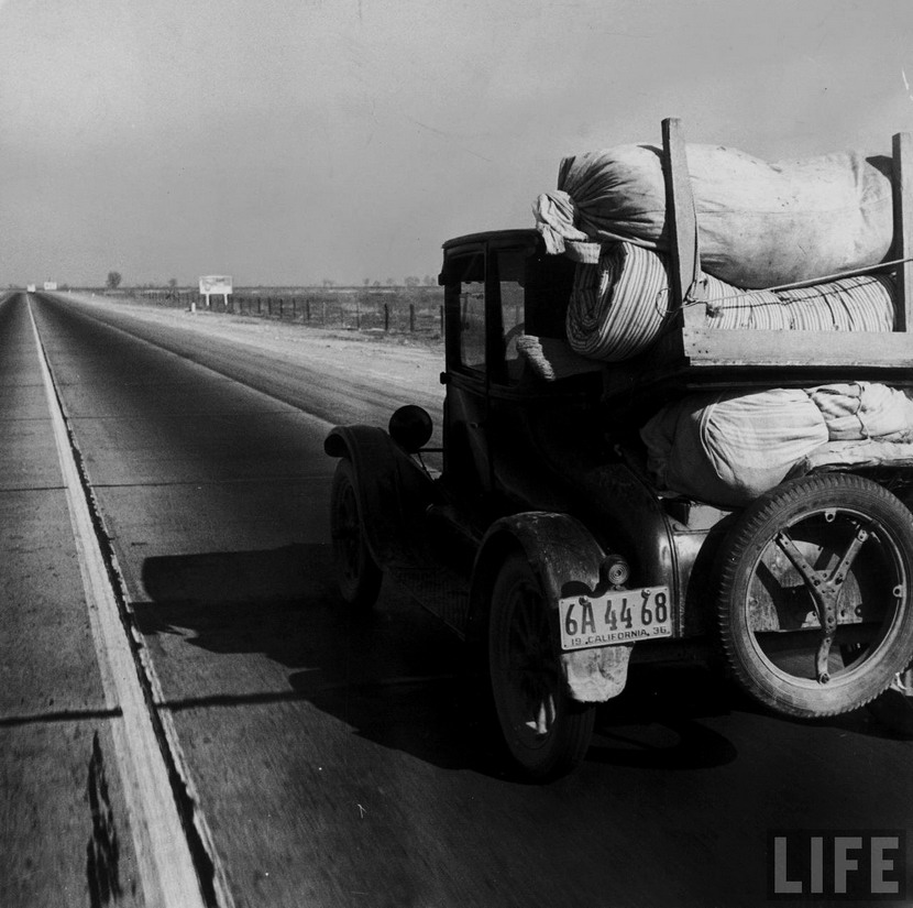 Depression era economic refugee, California, 1930s