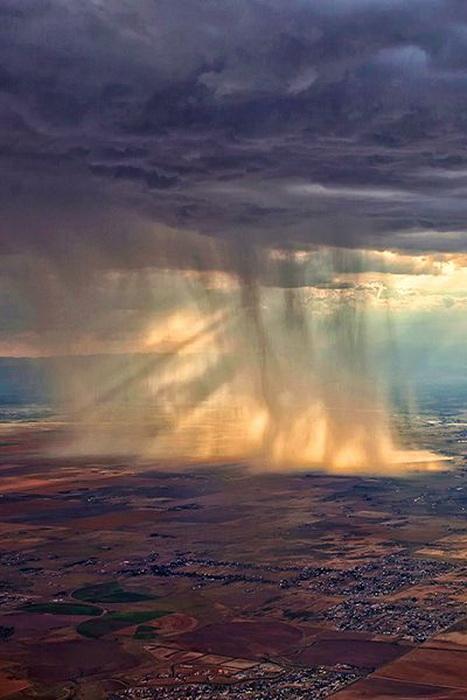 Downpour on the Coloradoplains