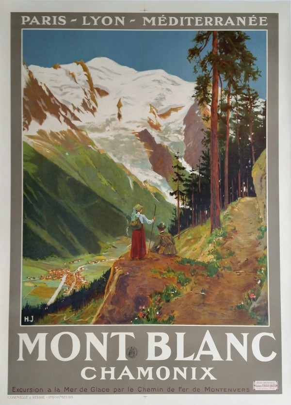 Mont Blanc and Chamonix, France
