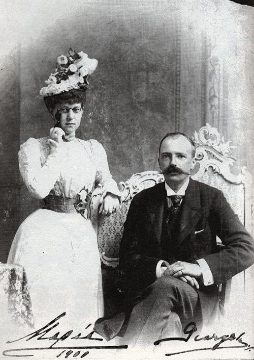 Grand Duchess Maria Georgievna and Grand Duke Georgiy Mikhailovich, RussianEmpire