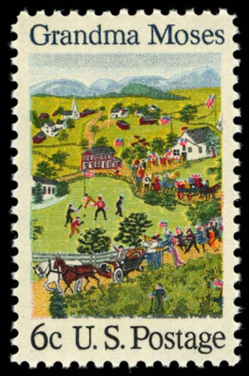 Rural Americana by GrandmaMoses