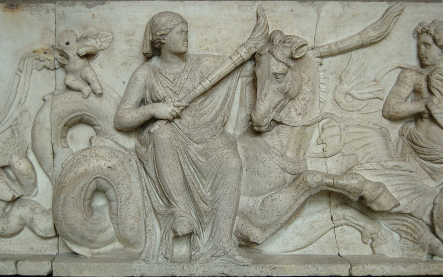 Greek frieze