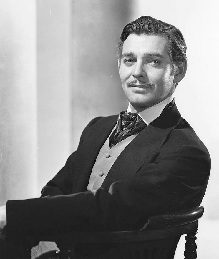 "Clark Gable, publicity photo for ""Gone With the Wind"""