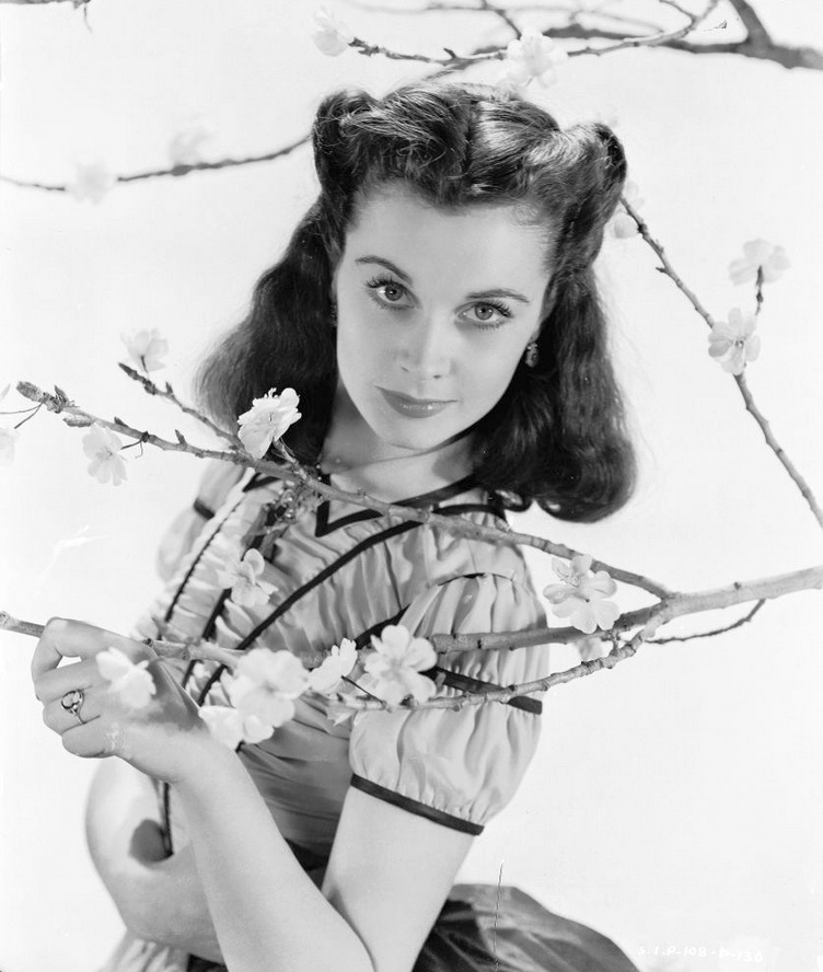 "Vivien Leigh, publicity photo for ""Gone With the Wind"""