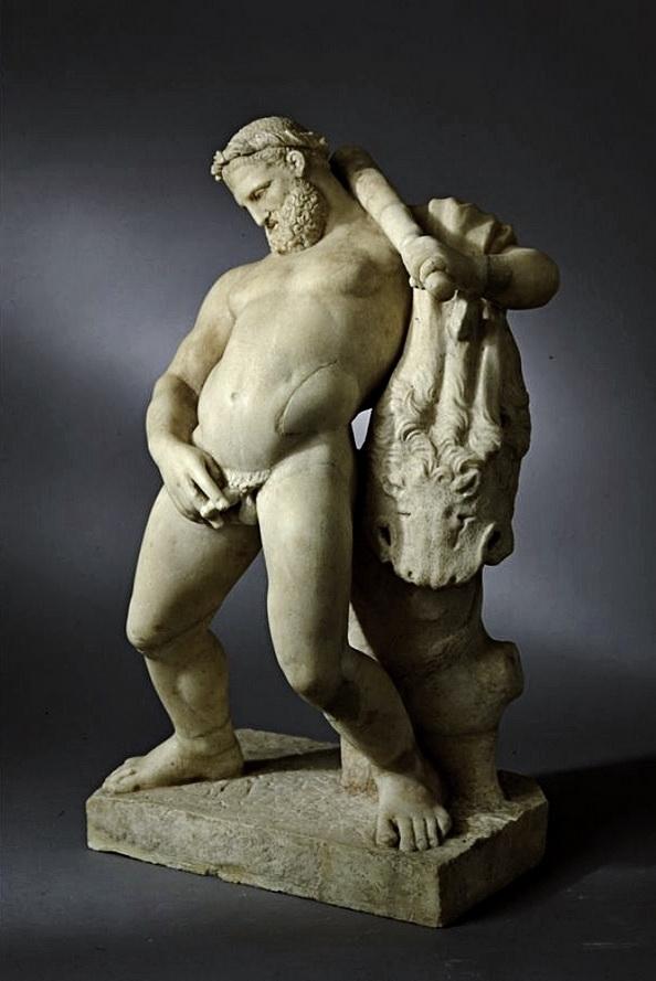 Hercules urinating