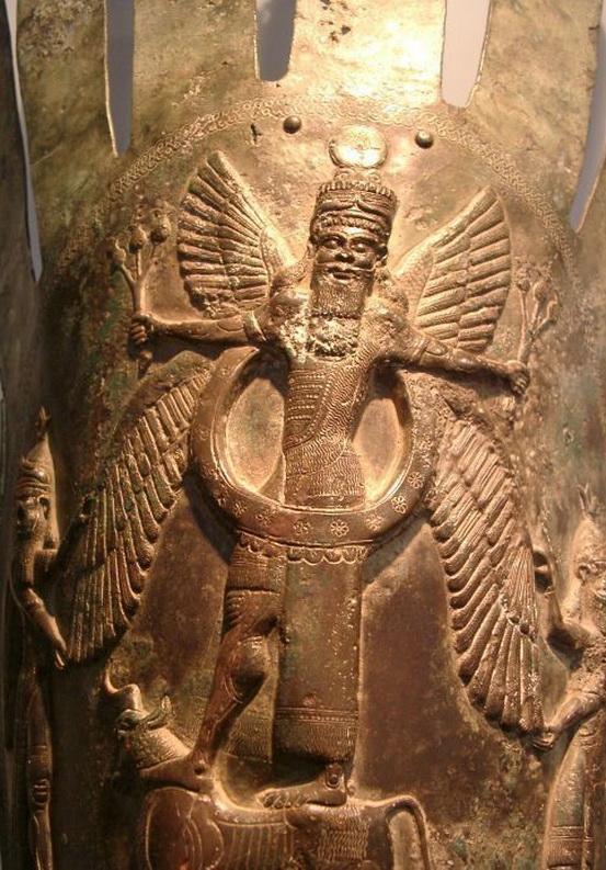 Ancient Assyrian god,Iraq