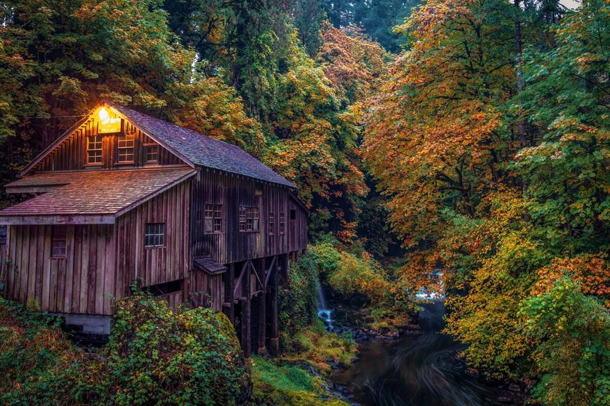 Old mill, Washingtonstate
