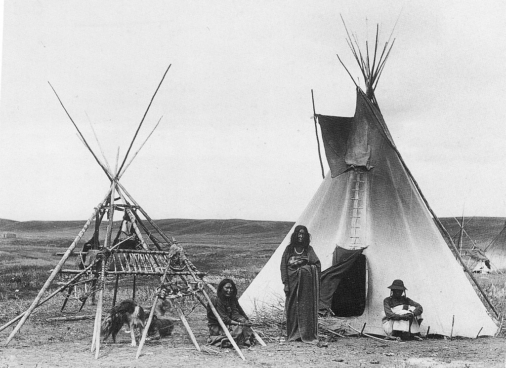 Native North Americans on the Great Plains,1800s