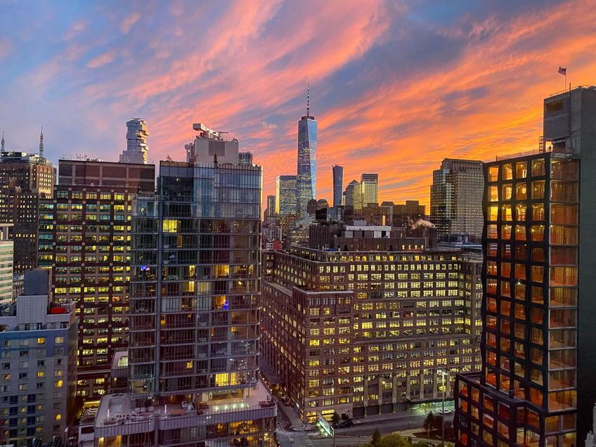 Soho, NYC, Sunset,2019