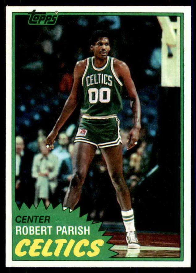 Robert Parish, Boston Celtics, early1980s