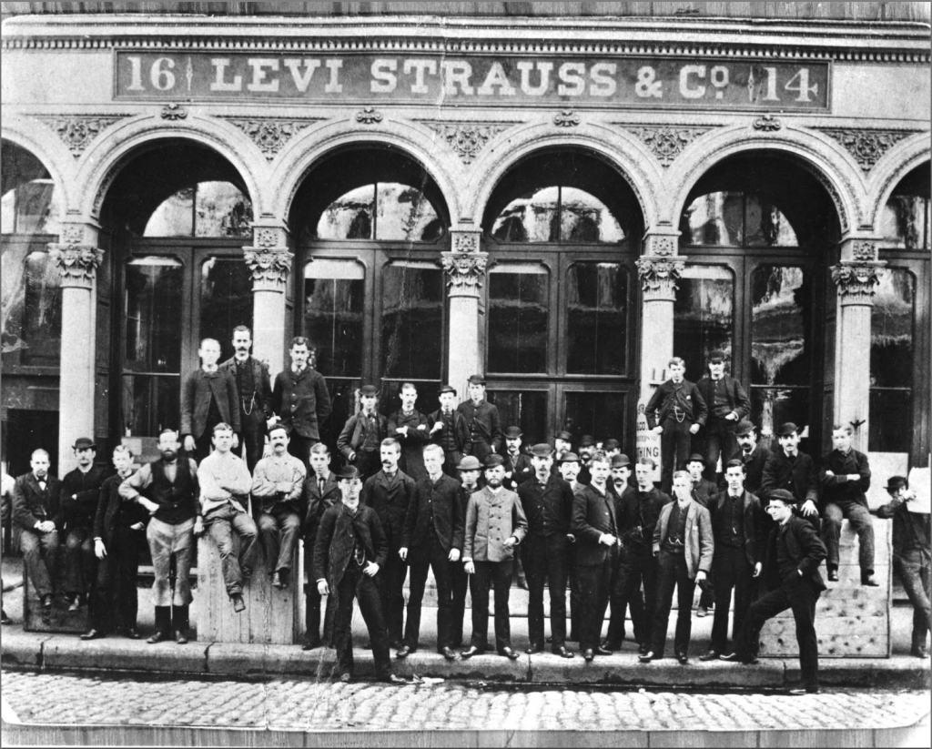 Levi Strauss & Co., San Francisco,1800s