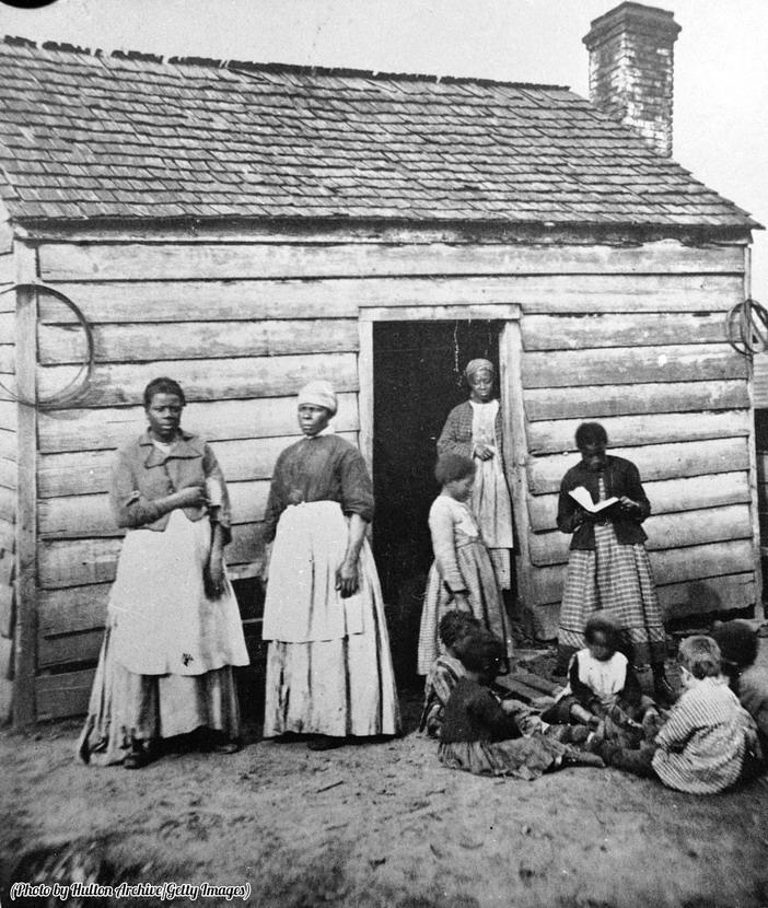 Slaves, circa 1860