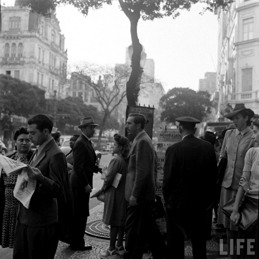 Walt Disney in Rio de Janeiro,1941