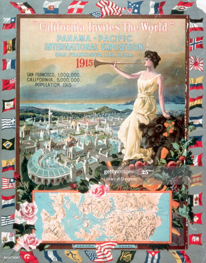 Panama-Pacific International Exposition, San Francisco,1915
