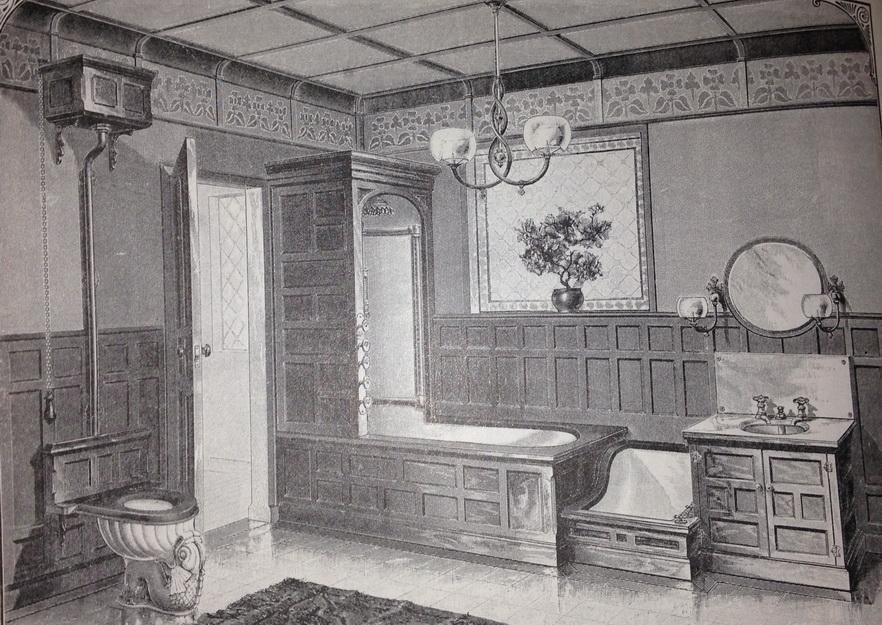 Vintage Bathroom, circa1890s