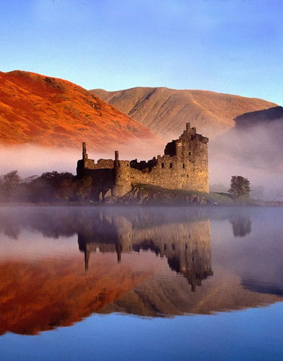Ruins of a Castle inScotland