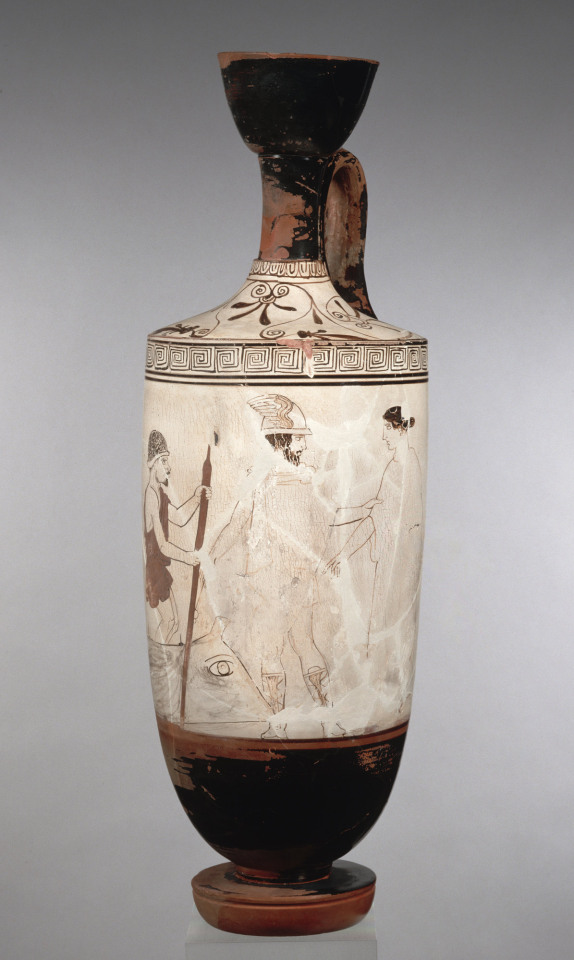 Dionysus on ancient Greekpottery