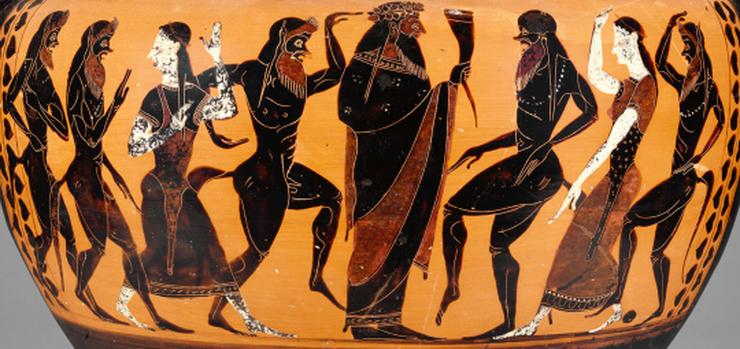 Ancient Greek depiction ofDionysus