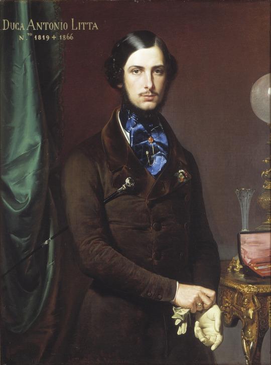 Duca (Duke) Antonio Litta, Italia,1800s